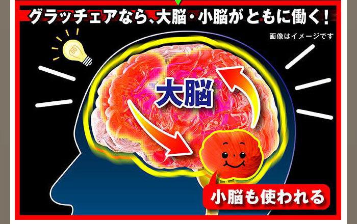 グラッチェアは小脳も働く!